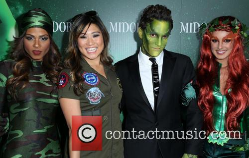 Christina Milian, Jenna Ushkowitz, George Kotsiopoulos and Shenae Grimes 7
