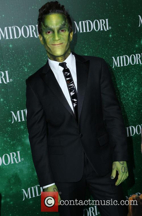 3rd annual Midori Green Halloween party - Arrivals