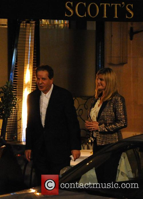 Charles Saatchi and Susannah Constantine 2