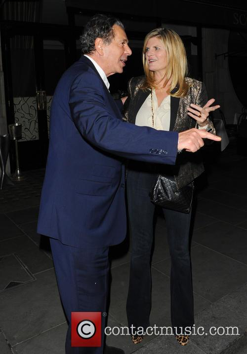 Susannah Constantine and Charles Saatchi 1