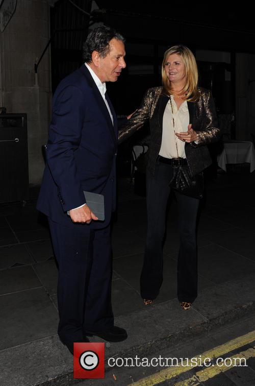 Susannah Constantine and Charles Saatchi 6
