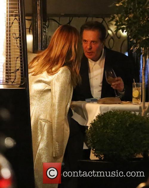 Trinny Woodall and Charles Saatchi Dine Out