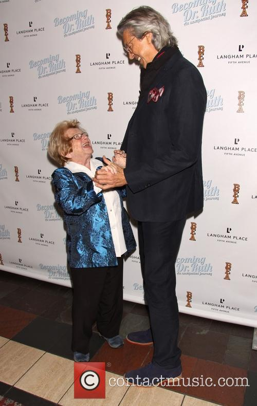 Dr. Ruth K. Westheimer and Tommy Tune 3