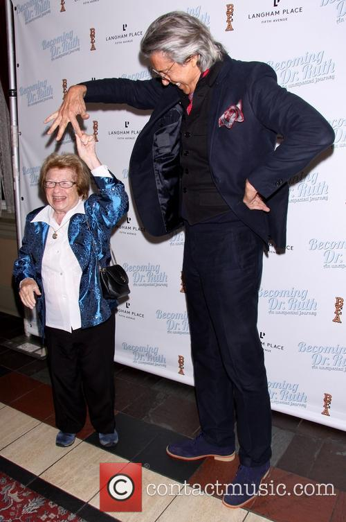 Dr. Ruth K. Westheimer and Tommy Tune 4