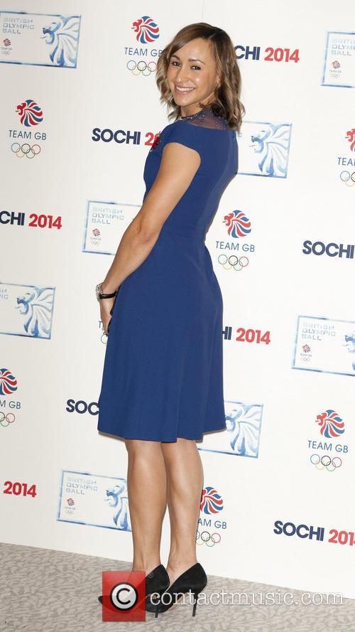 Jessica Ennis, Ballroom Suite, The Dorchester, Park Lane, London
