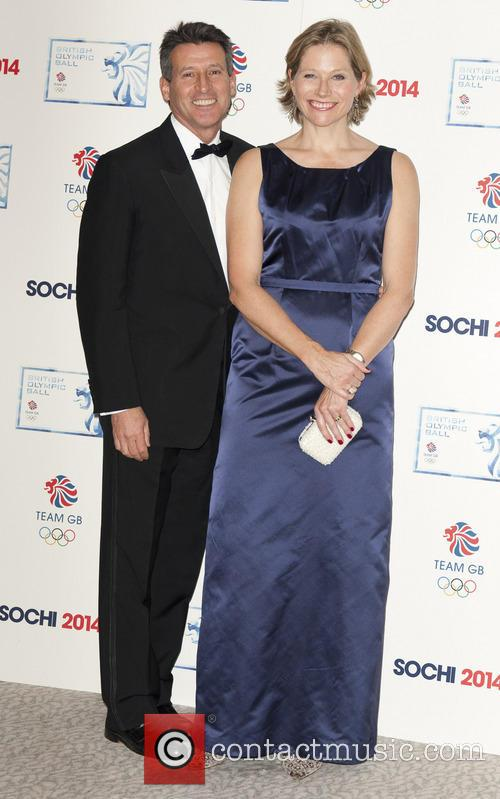 Sebastian Coe and Wife 1