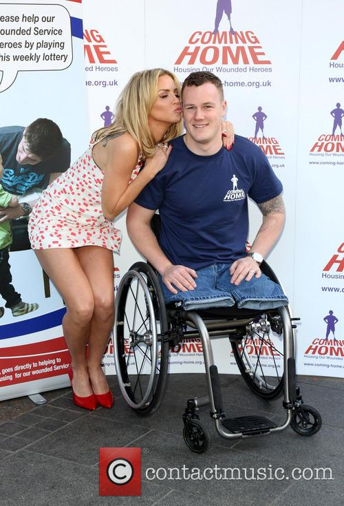 Sarah Harding and War Hero Michael 9