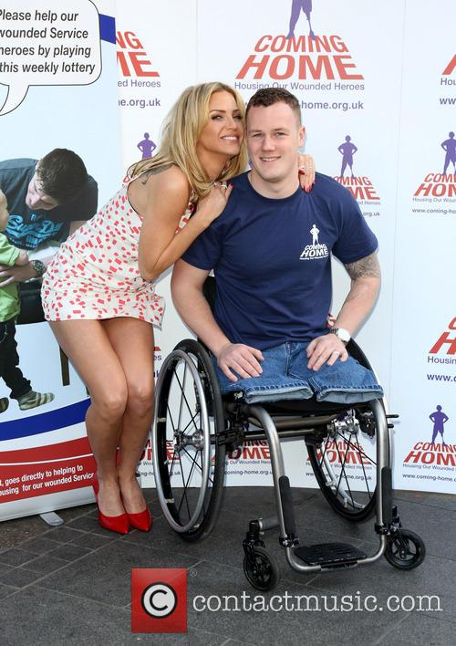 Sarah Harding and War Hero Michael 10