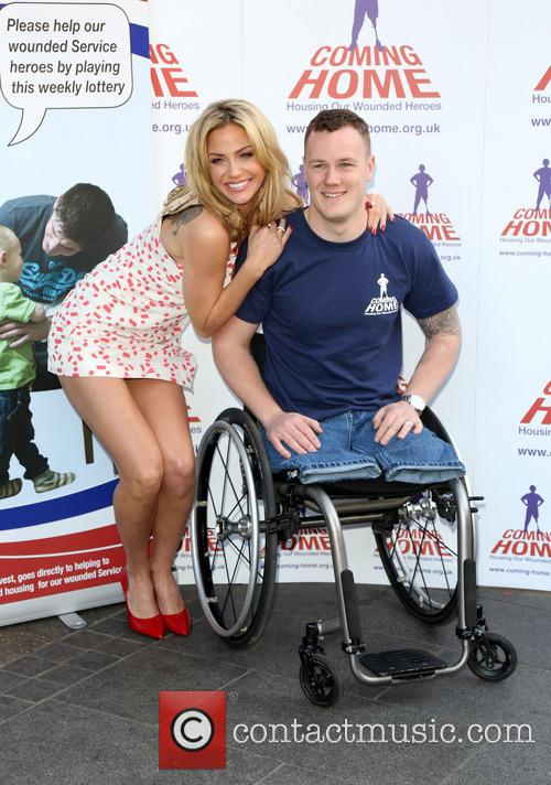 Sarah Harding and War Hero Michael 3