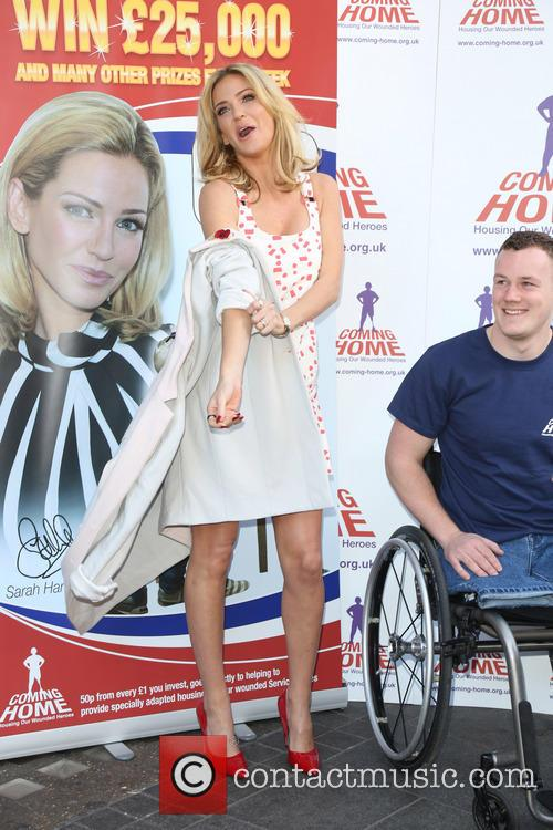 Sarah Harding and War Hero Michael 5