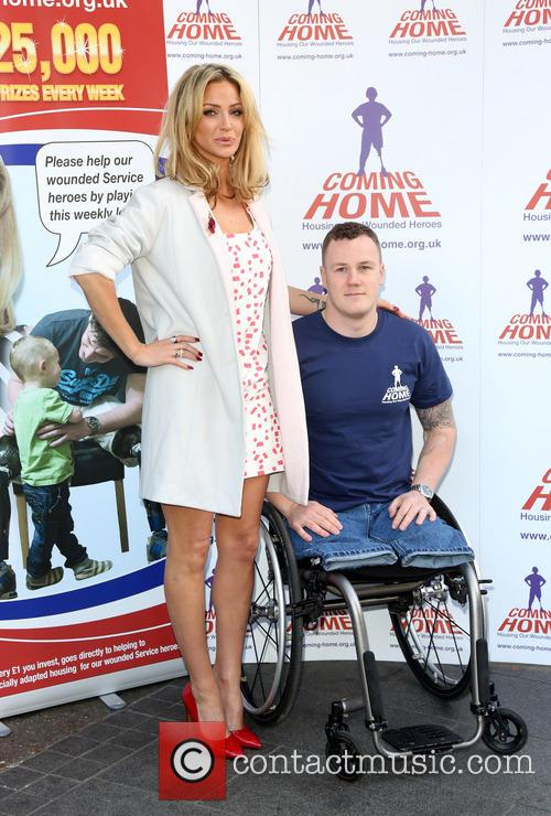Sarah Harding and War Hero Michael 8