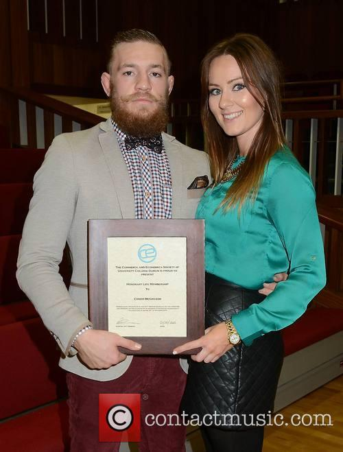 Conor Mcgregor and Dee Devlin 1