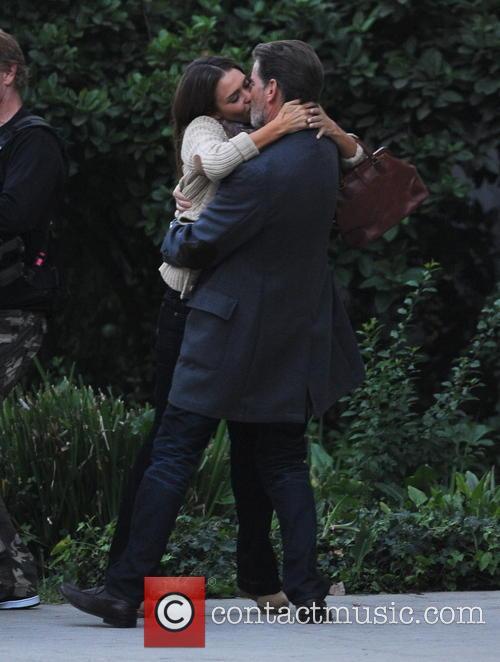Jessica Alba and Pierce Brosnan 2