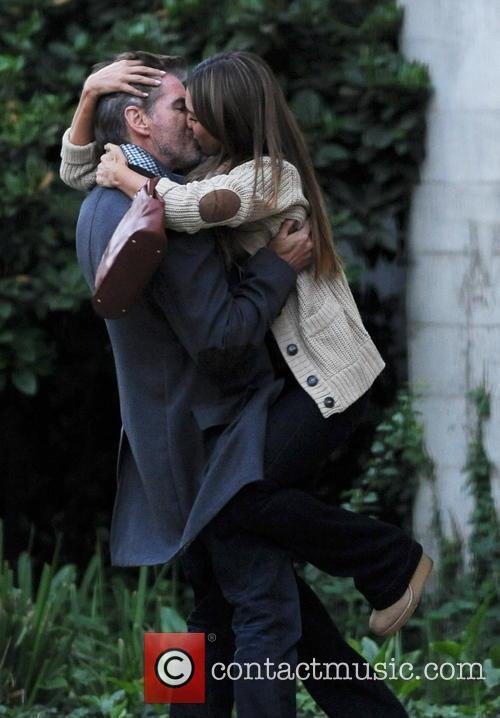 Jessica Alba and Pierce Brosnan 6