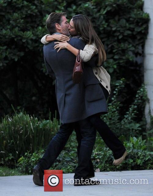 Jessica Alba and Pierce Brosnan 9