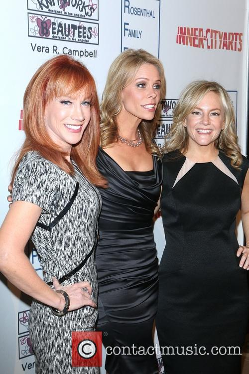 Kathy Griffin, Chery Hines and Tosca Musk 5