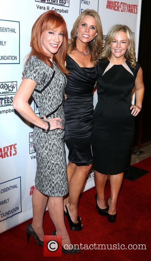Kathy Griffin, Chery Hines and Tosca Musk 8