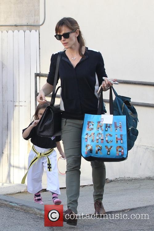 Jennifer Garner and Seraphina Rose Elizabeth 3