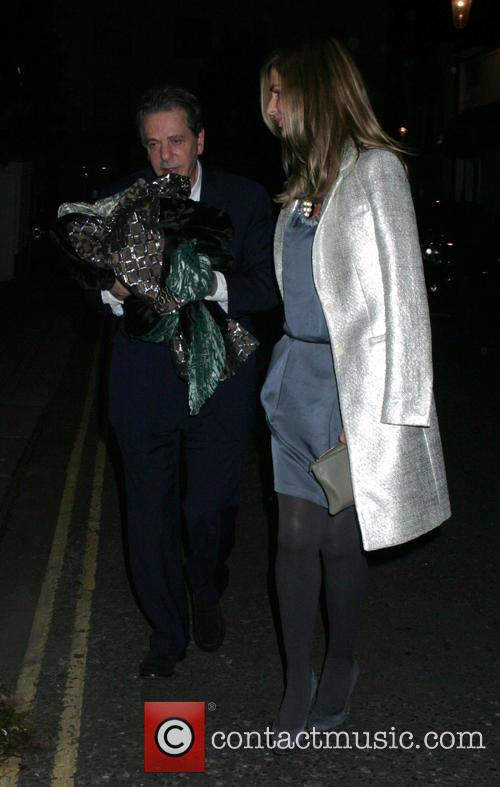 Trinny Woodall and Charles Saatchi 2