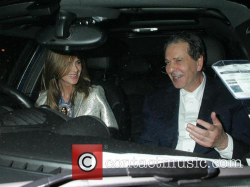 Trinny Woodall and Charles Saatchi 5
