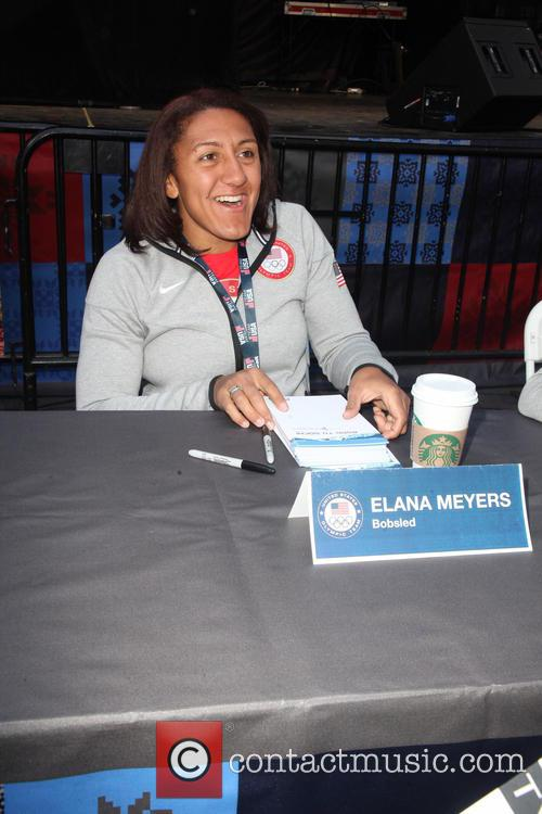Celebration and Elana Meyers 2