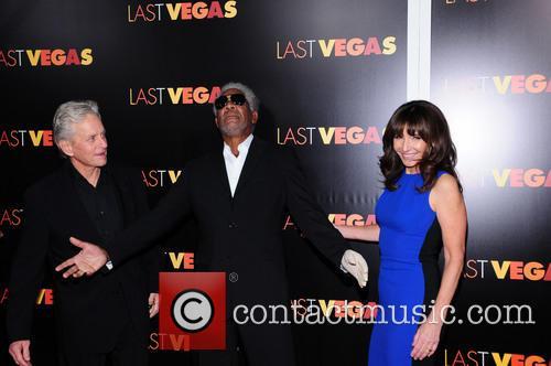 Mary Steenburgen, Morgan Freeman and Michael Douglas 4