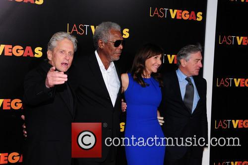 mary steenburgen morgan freeman robert de niro michael douglas ny 3928581