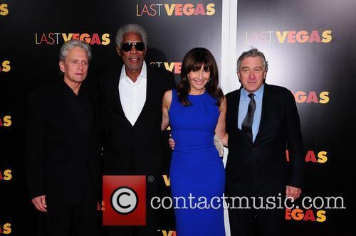 Mary Steenburgen, Morgan Freeman, Robert De Niro and Michael Douglas 5