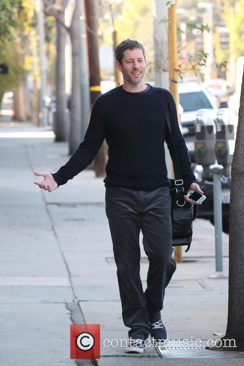 Darren Le Gallo leaving a gym on Melrose...