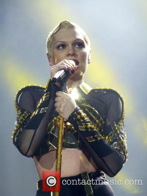 Jessie J performing at the O2 Arena