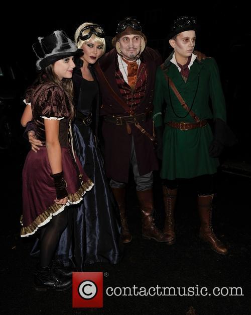 George Lineker, Gary Lineker and Danielle Lineker 5