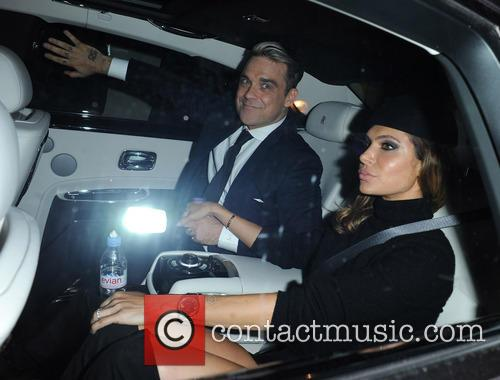 Ayda Field and Robbie Williams 3