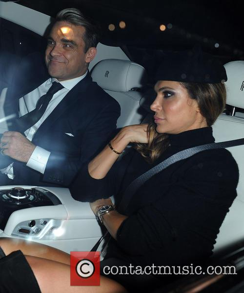 Ayda Field and Robbie Williams 4