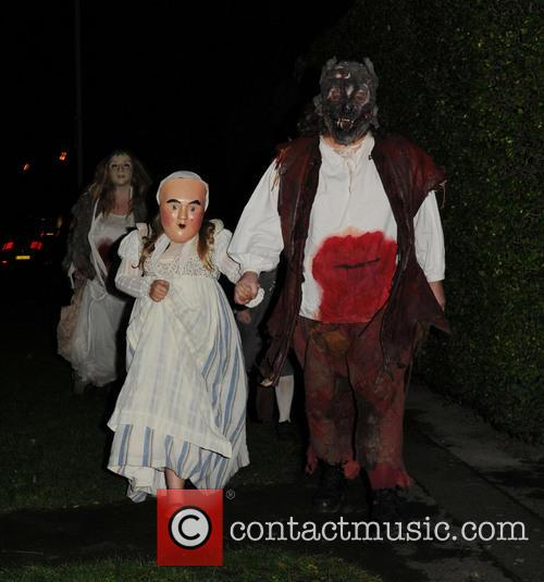 Jonathan Ross Halloween Party