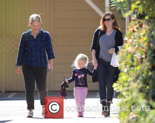 Amy Adams, Amy Adam and Aviana 1