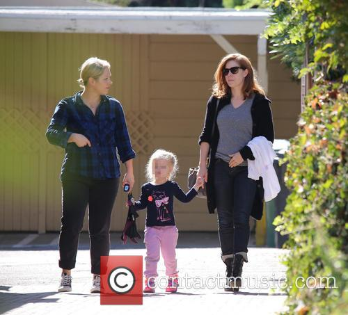 Amy Adams, Amy Adam and Aviana 8