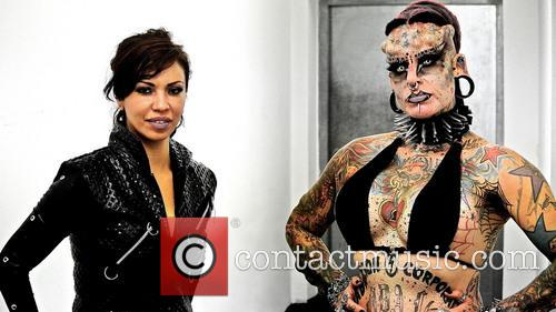 Maria Cristerna A.k.a The Mexican Vampire Lady 1