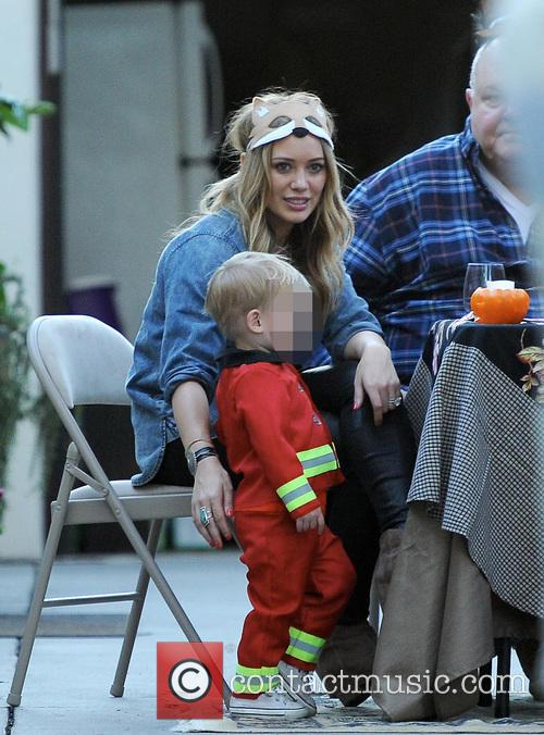 Hilary Duff and Luca 10