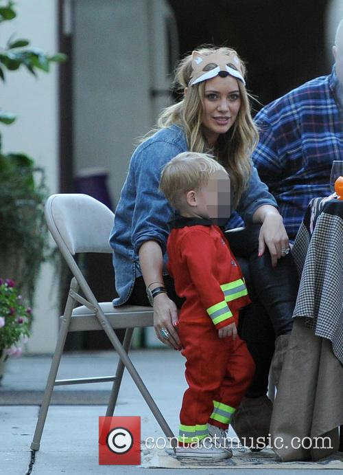 Hilary Duff and Luca 11