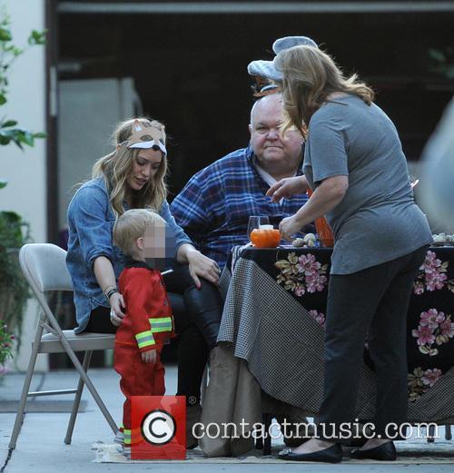 Hilary Duff, Luca, Susan and Bob 7