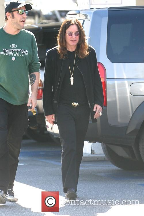 Ozzy Osbourne shopping at Bristol Farms