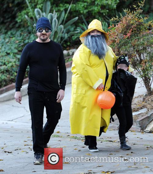 Melissa McCarthy, Vivian and Ben Falcone 6