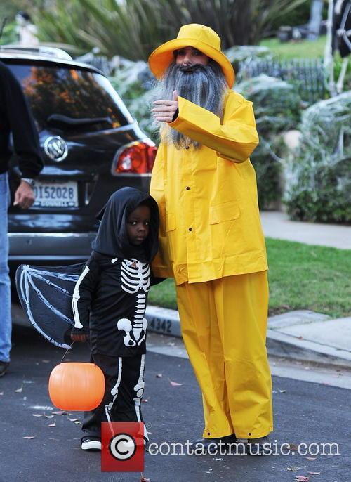 Sandra Bullock and Louis 3