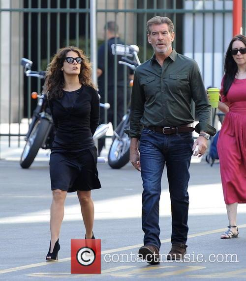 Salma Hayek and Pierce Brosnan 2