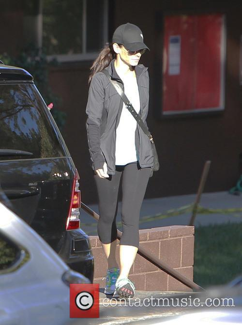 Sandra Bullock work-out gear