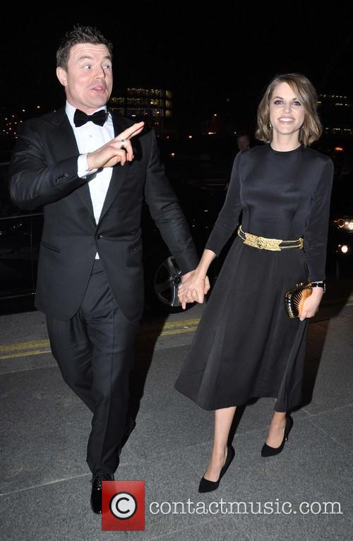 Brian O'driscoll and Amy Huberman 4