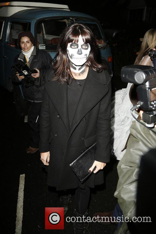 Jonathan Ross Halloween Party 2013