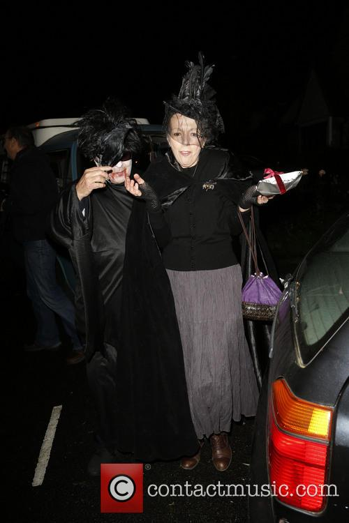 Jonathan Ross and Various Costumed Guests Attend 11