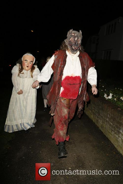 Jonathan Ross and Various Costumed Guests Attend 12