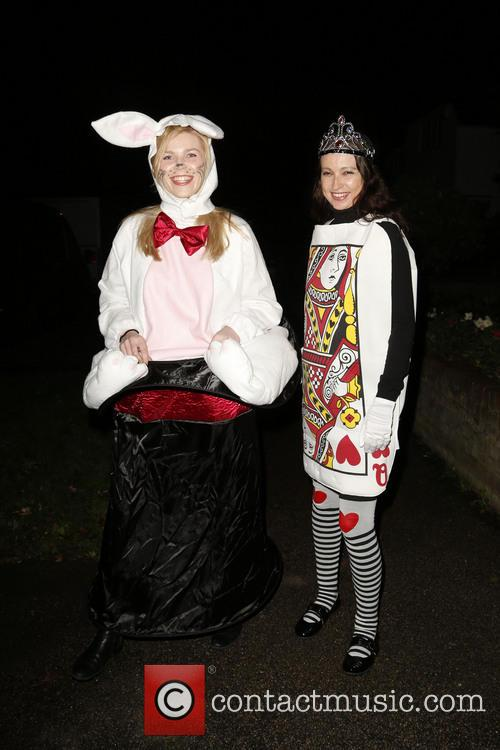 Jonathan Ross and Various Costumed Guests Attend 16